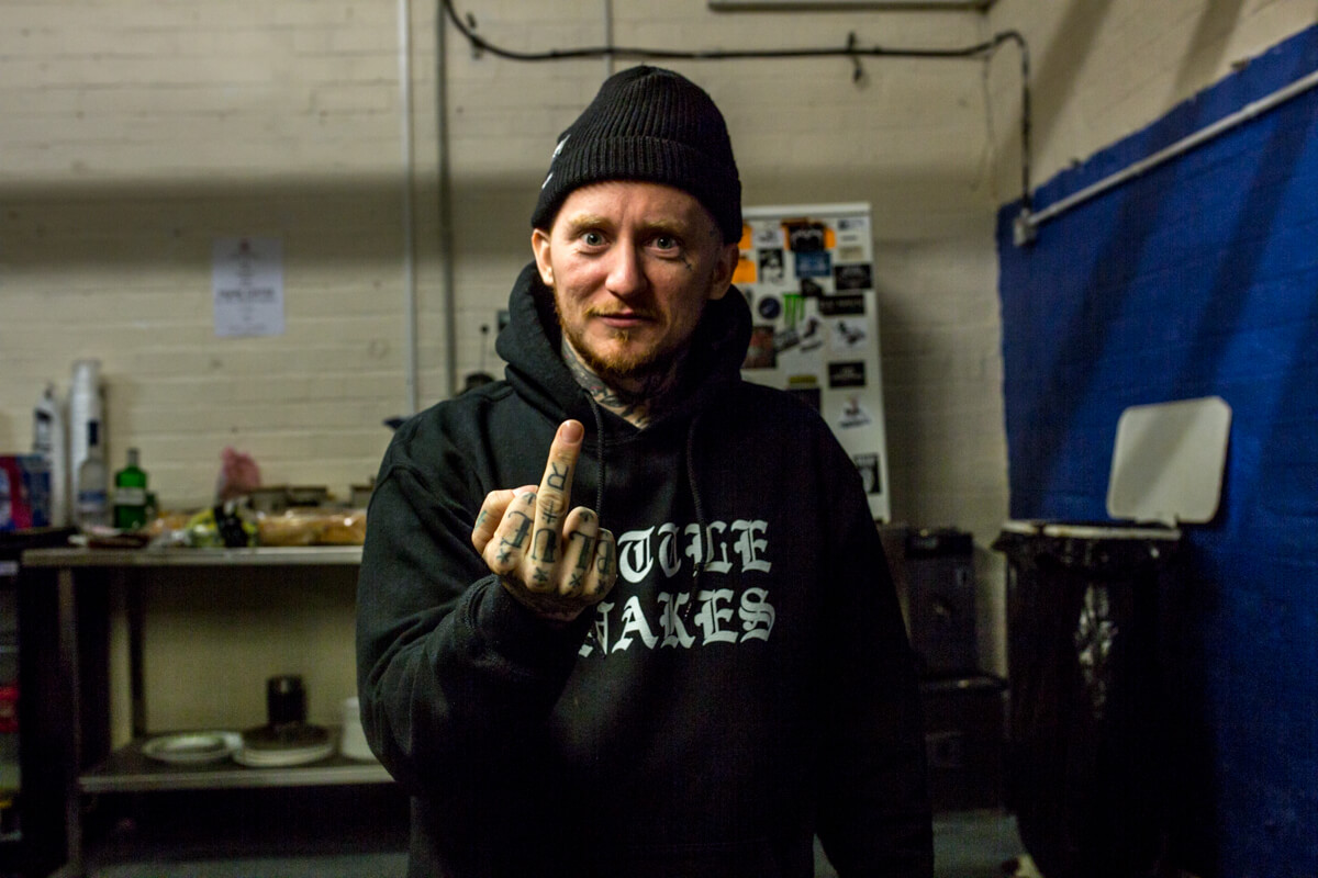 Frank Carter Interview