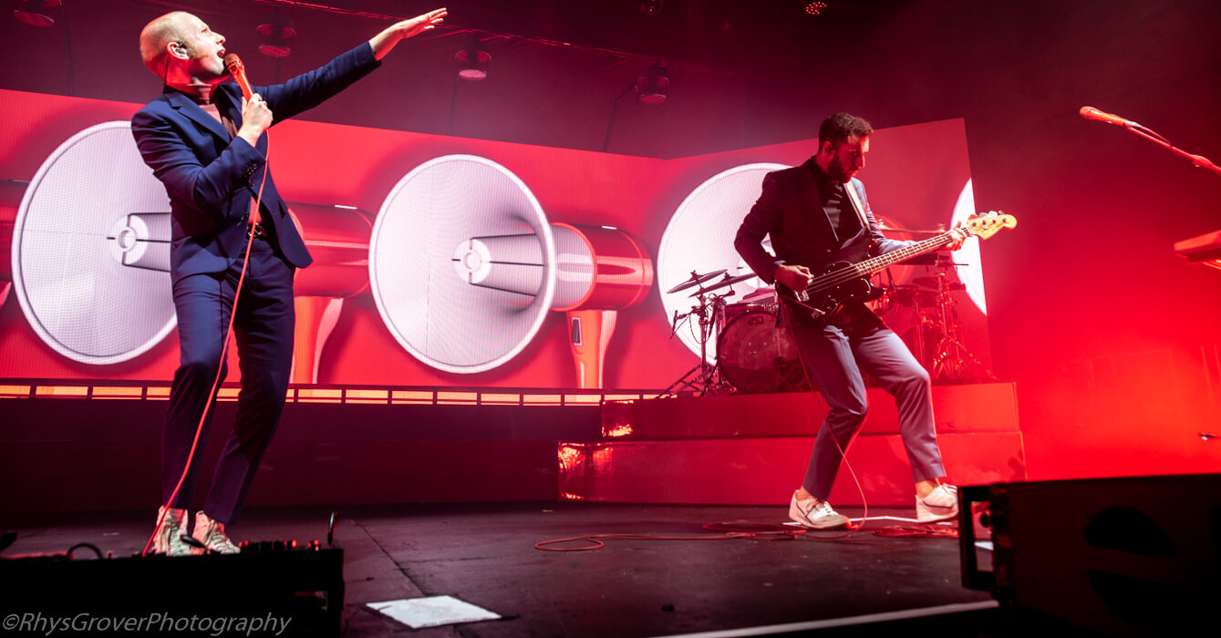 Live: Two Door Cinema Club Return To Manchester