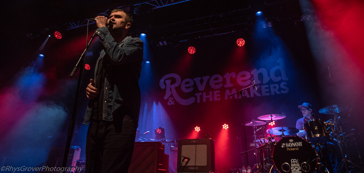 LIVE: Reverend + The Makers at Manchester Academy