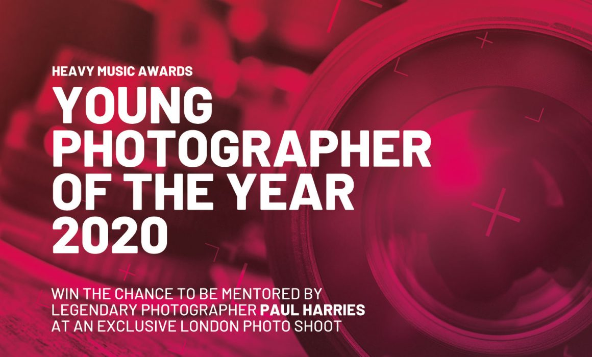 Heavy Music Awards Opens Submissions For Young Photographer Of The Year 2020