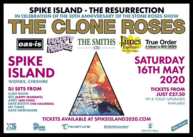The Clone Roses Announce Spike Island: The Resurrection