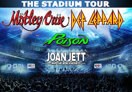 Motley Crue Stadium Tour