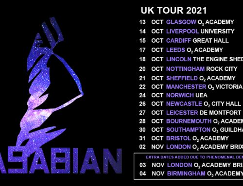 Kasabian Announce Tour Support For Upcoming Shows